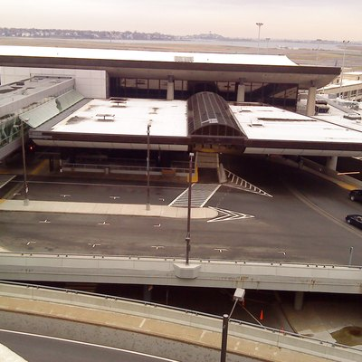 Terminal C, at Boston's Logan International Airport.