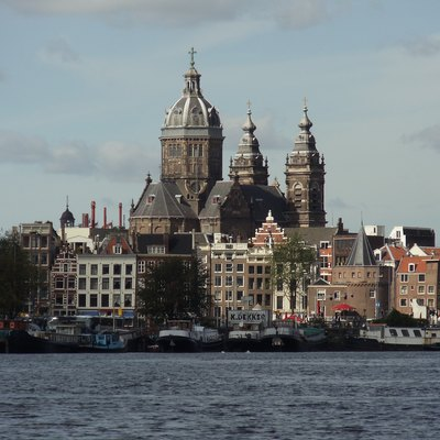 The Church of St Nicholas in Amsterdam.