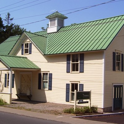 The Creamery at 29 Hannum Street at the corner of Kelley Street in Skaneateles, New York is a former creamery wwhich is now the headquarters and museum of the Skaneateles Historical Society.