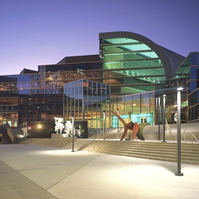 The Kentucky Center in Downtown Louisville. The Kentucky Center for the Performing Arts.