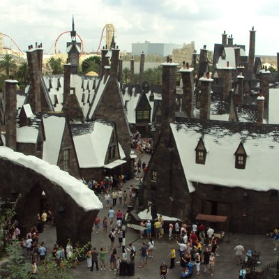The Wizarding World of Harry Potter, at Islands Of Adventures, Orlando, FL
