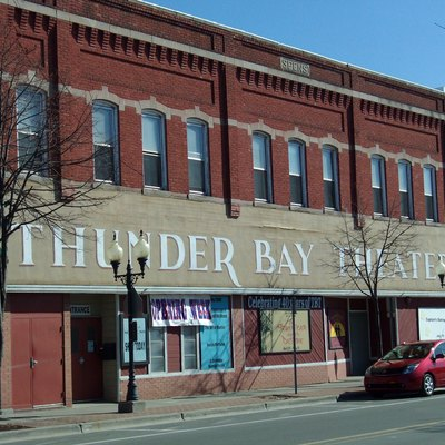 Thunder Bay Theater in Alpena, Michigan, USA