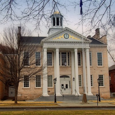 Tioga County Courthouse, Wellsboro, Pennsylvania