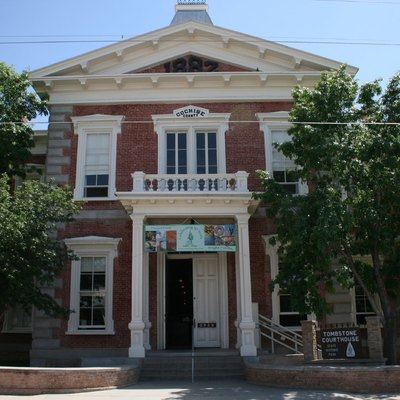 Historic courthouse of Tombstone.