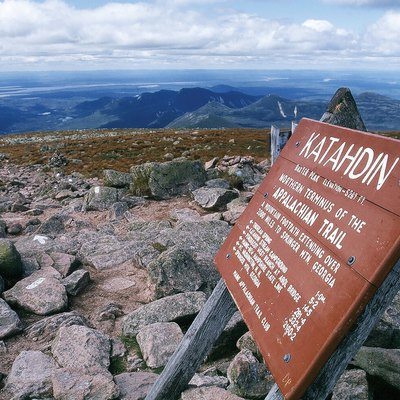 Top of Mount Katahdin