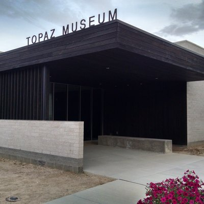 Site of the (future) Topaz Museum in Delta, Utah.