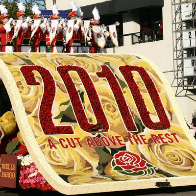 Rose Parade 2010, Pasadena, California. This year theme : A CUT ABOVE THE REST