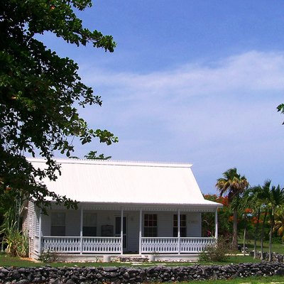 Traditional Caymanian home, East End - Grand Cayman Island