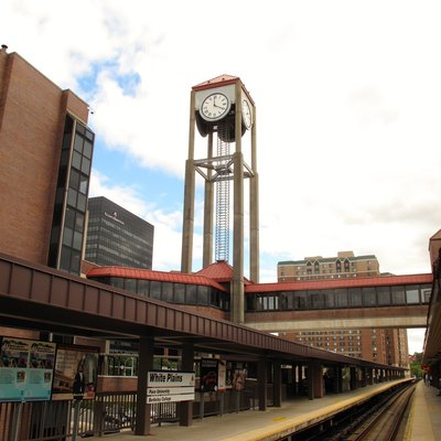 Train Station in the City of White Plains