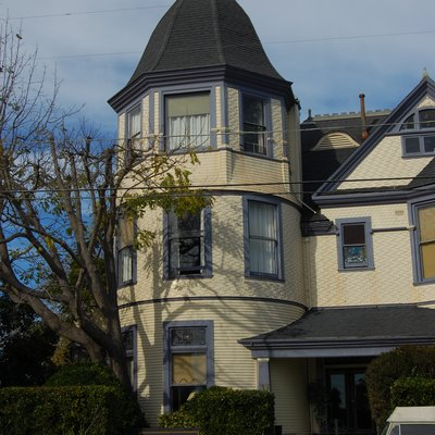 Golden Gate villa. 924 Third Street. Santa Cruz, California, USA