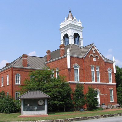 Union County courthouse in Blairsville, Georgia