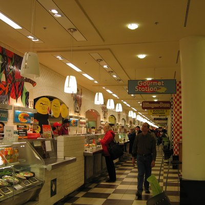 Food court at Union Station in Washington, D.C..