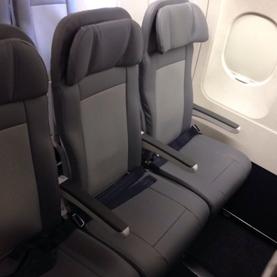 United's new Recaro seats