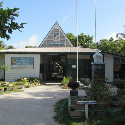 The University of South Pacific, Kiribati Campus.