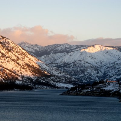 Lake Chelan, looking uplake from the south shore