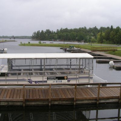 Tour Boat at Kabetogama Visitor center, Voyageur Nat'l Park