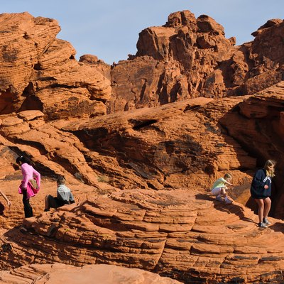 One of the crown jewels of Nevada State Parks system, Valley of Fire is a nice day trip from Las Vegas, and offers many hiking opportunities.