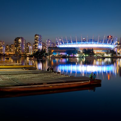 Vancouver from science world