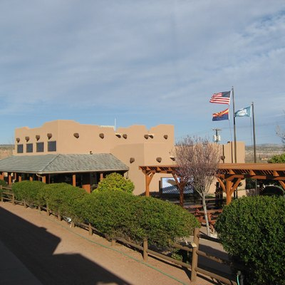 Main terminal and headquarters of the w:Verde Canyon Railroad in w:Clarkdale, Arizona.