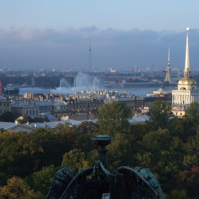 View from the Colonnade, St Isaac's Cathedral, St Petersburg