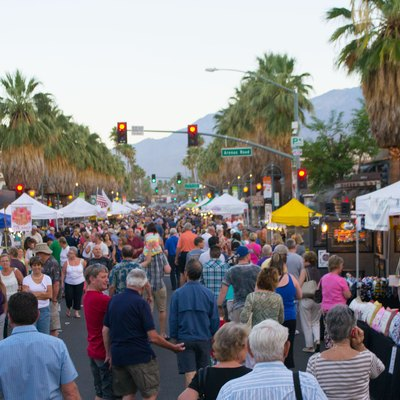 Village Fest in Palm Springs, California