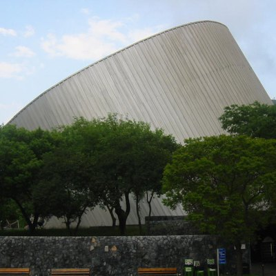 Planetario Alfa, Museum, Astronomical Observatory And Imax Dome System, Monterrey, Nl, Mexico.