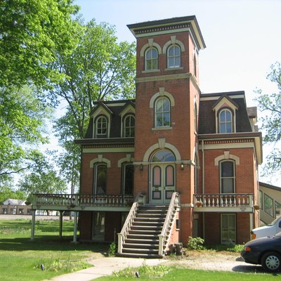 Von Kleinsmid Mansion, Sandwich, Illinois. National Register Of Historic Places.
