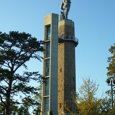 The Vulcan statue, Birmingham, Alabama.