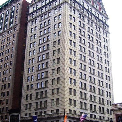 W Union Square Hotel on Park Avenue South and East 17th Street, Manhattan, New York City.