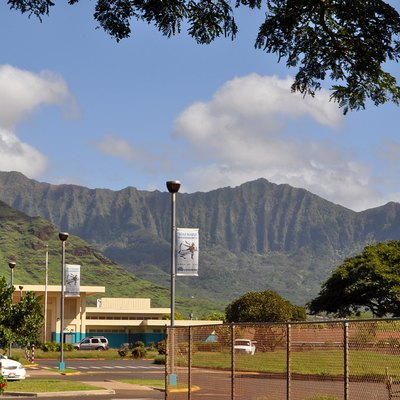 Lovely setting! Waianae is in the remote western part (Leeward Shores) of Oahu, and is far removed from the bustle, hustle, and glitz of Honolulu and Waikiki.