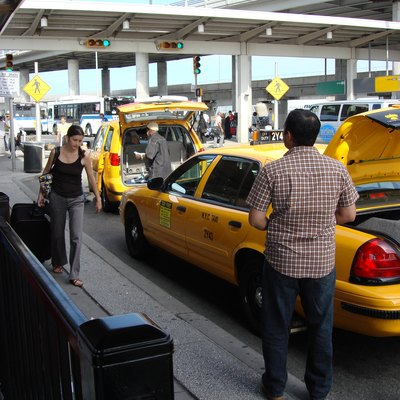 Taxi Stand at JFK Airport