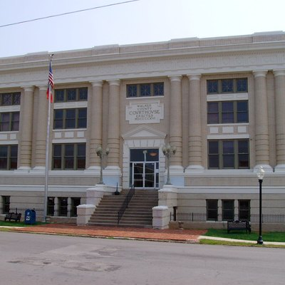This is a photograph of the Walker County, GA courthouse in LaFayette Georgia.