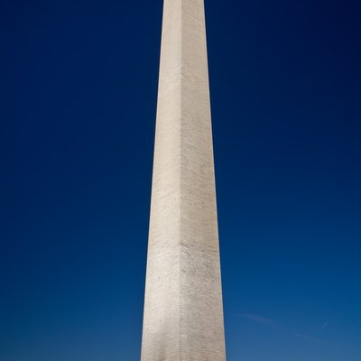 Washington Monument, Washington D.C., United States as viewed at twilight/dusk. Taken by myself with a Canon 5D and 24-105mm f/4L IS lens.