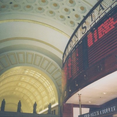 The interior of Union Station in Washington, D.C. (United States).