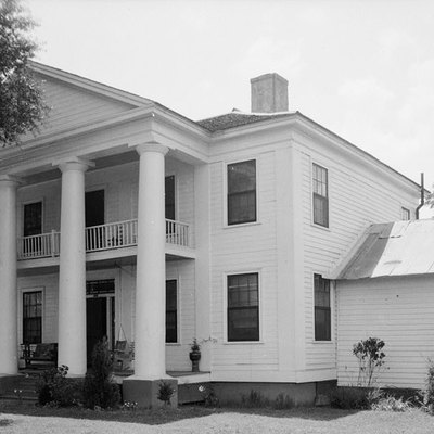 This is a photograph of the Wellborn house in Eufaula, Alabama.