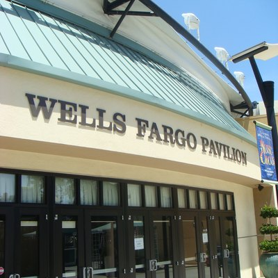The Wells Fargo Pavilion in Sacramento