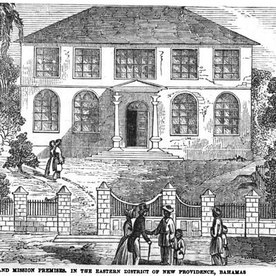 Wesleyan Chapel and Mission Premises. In the Eastern District of New Providence, Bahamas (p.6, 1849)