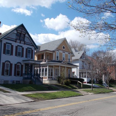 West 21st Street Historic District, Erie, Pennsylvania April 2013