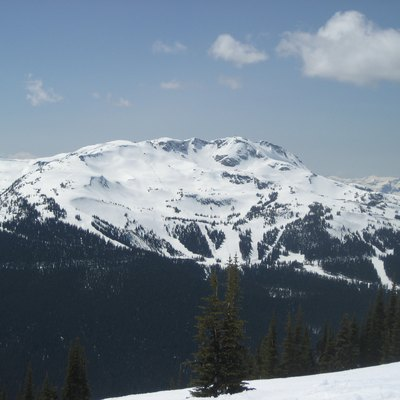 Whistler Mountain In British Columbia, Canada.