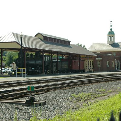 Amtrak station in White River Junction