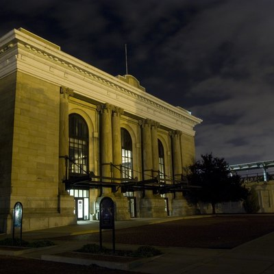 Wichita's former Union Station. There has been no passenger rail service to Wichita since the end of the Lone Star in 1979.
