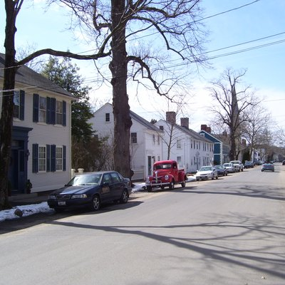 This is my 2009 photo of Wickford, Rhode Island, RI.