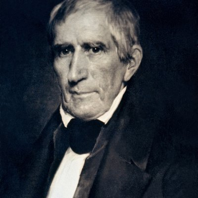 Daguerreotype of William Henry Harrison, 9th President of the United States.