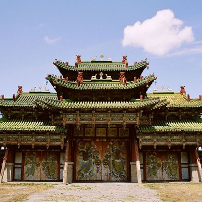 Winter Palace of Bogd Khaan, Ulan Bator, Mongolia