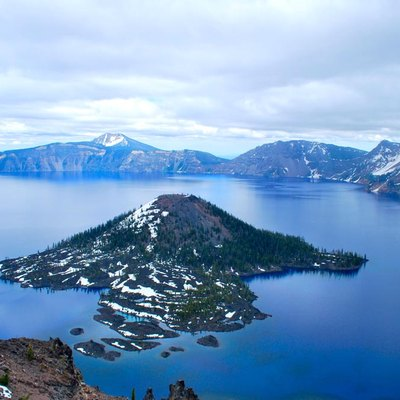 Crater Lake National Park Wizard Island