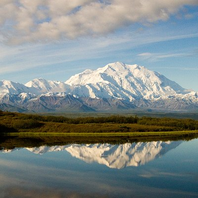 Wonder Lake and Denali (original Flickr title: Reflection Pond)