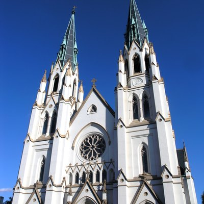 St. John's Cathedral in Savannah, Georgia (USA)