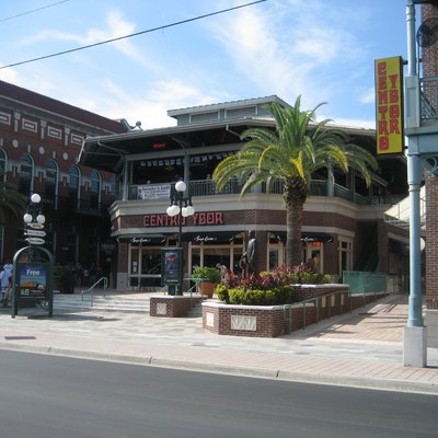 Ybor City section of Tampa, Florida.
