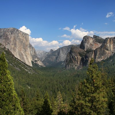 Yosemite valley, Yosemite National Park, California, USA.