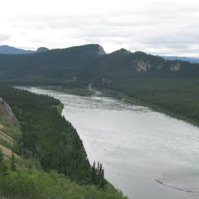 Yukon, Canada. Several Of The World'S Longest Rivers Go Through The Taiga, Including Ob, Yenisei, Lena, And Mackenzie.